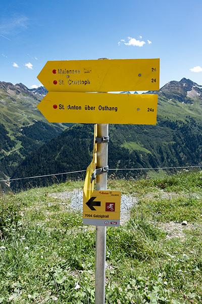Sankt-Anton am Arlberg wandelen